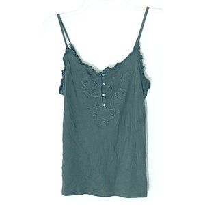 OLD NAVY Set (3) of Embroidered Camisole Tank Tops